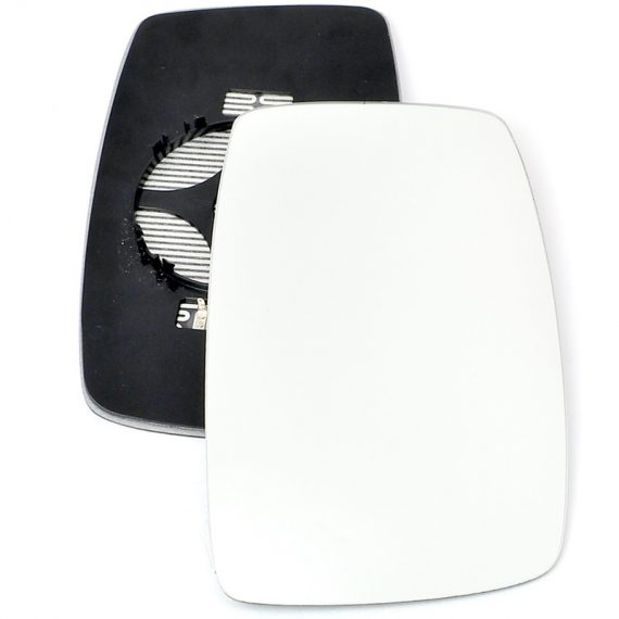 Right side wing door mirror glass for Citroen Dispatch