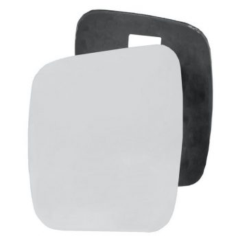 Left side wing door mirror glass for Citroen Nemo, Fiat Qubo