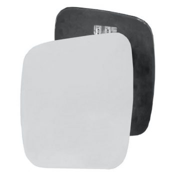 Left side wing door mirror glass for Citroen Nemo, Fiat Qubo, Peugeot Bipper