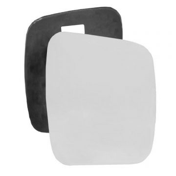 Right side wing door mirror glass for Fiat Fiorino