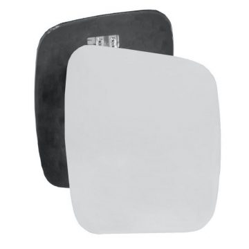 Right side wing door mirror glass for Citroen Nemo, Fiat Qubo, Peugeot Bipper