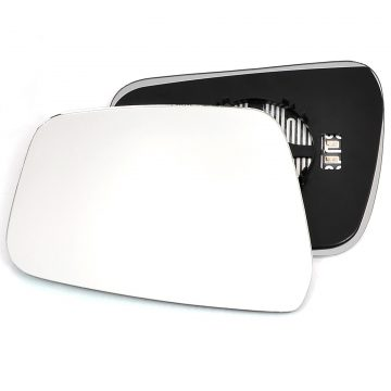 Nissan Navara 2007-2015 Left wing mirror glass - Heated