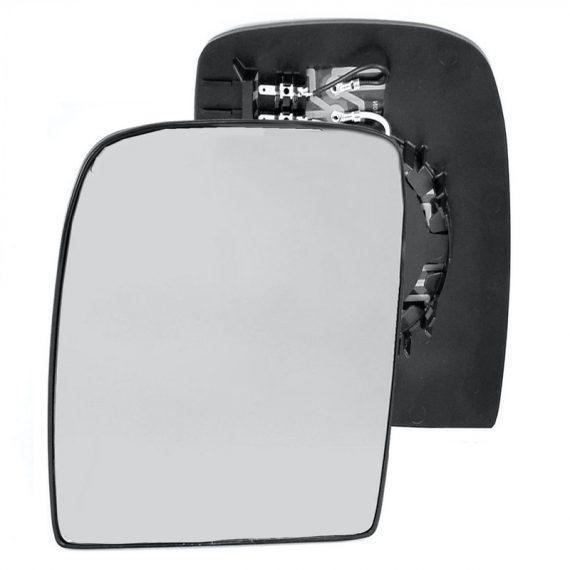 Left side wing door mirror glass for Fiat Scudo, Peugeot Expert