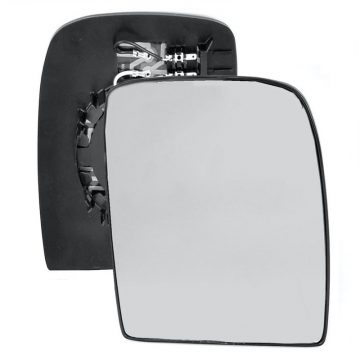 Right side wing door mirror glass for Fiat Scudo, Peugeot Expert