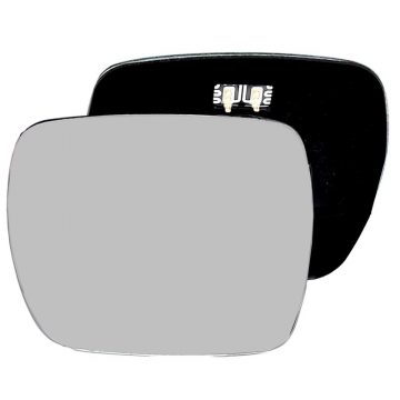 Left side wing door mirror glass for Renault Kangoo