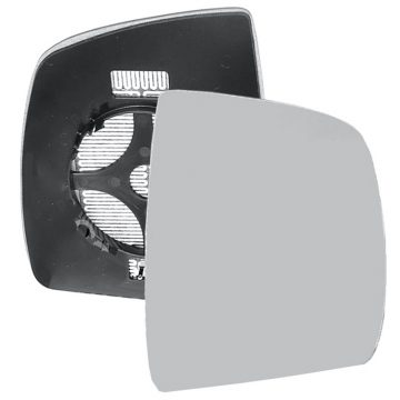 Right side wing door mirror glass for Fiat Doblo, Vauxhall Combo