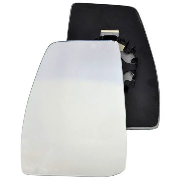 Left side wing door mirror glass for Ford Transit Custom