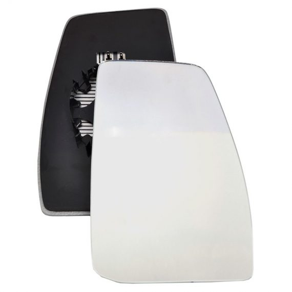 Right side wing door mirror glass for Ford Transit Custom