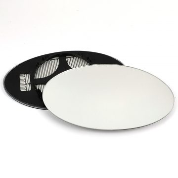 Right side wing door mirror glass for Mini Convertible, Mini Hatchback