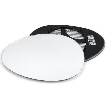 Left side wing door mirror glass for Mini Hatchback