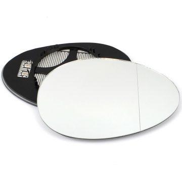 Right side wing door blind spot mirror glass for Mini Clubman, Mini Convertible, Mini Countryman, Mini Coupe, Mini Paceman, Mini Roadster