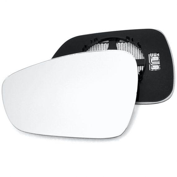 Left side wing door mirror glass for Peugeot 508