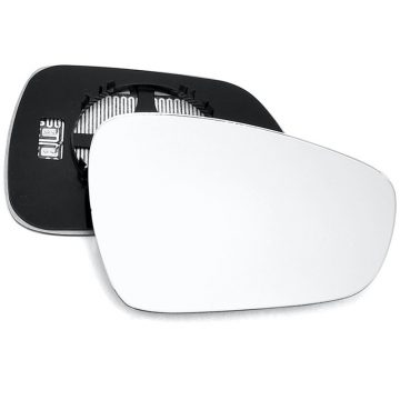 Right side wing door mirror glass for Peugeot 508