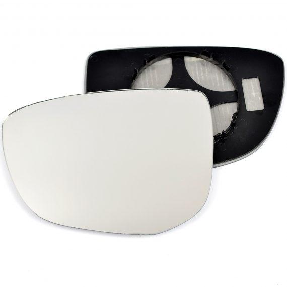 Left side wing door mirror glass for Citroen C4 Cactus