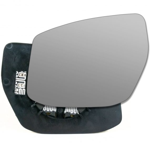 Nissan Pulsar 2014-2018 Left wing mirror glass - Heated