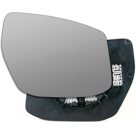 Right side wing door mirror glass for Nissan Pulsar