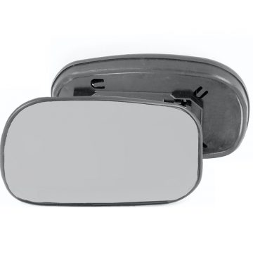 Left side wing door mirror glass for Nissan Micra