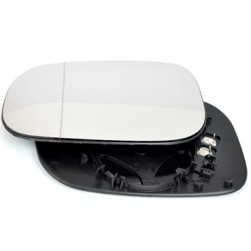 Left side blind spot wing mirror glass for Volvo S40, Volvo S60