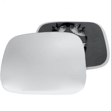 Left side wing door mirror glass for Volvo XC70 Mk3