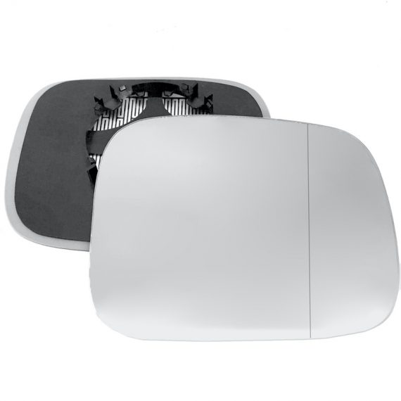 Right side wing door blind spot mirror glass for Volvo XC70 Mk3, Volvo XC90 Mk1 facelift
