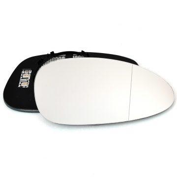 Right side wing door blind spot mirror glass for Porsche 911, Porsche 928