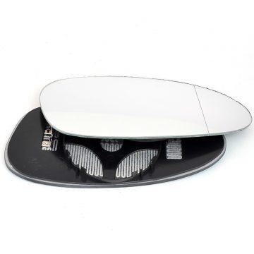 Left side wing door mirror glass for Porsche Boxter