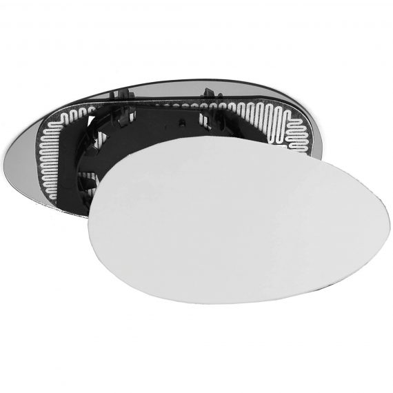 Right side wing door mirror glass for Alfa Romeo 156
