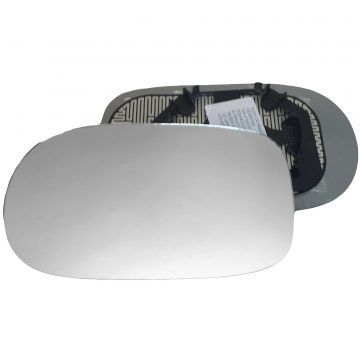 Left side wing door mirror glass for Alfa Romeo 166
