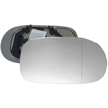 Right side wing door blind spot mirror glass for Alfa Romeo 166