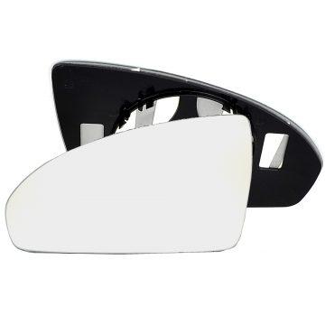 Left side wing door mirror glass for Volkswagen Caddy