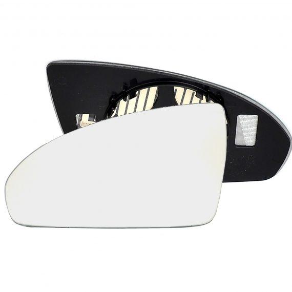 Left side wing door mirror glass for Volkswagen Caddy, Volkswagen Passat