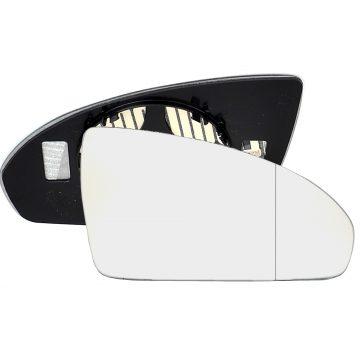 Right side wing door blind spot mirror glass for Volkswagen Passat
