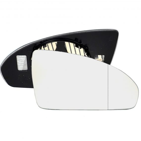 Right side wing door blind spot mirror glass for Smart Fortwo