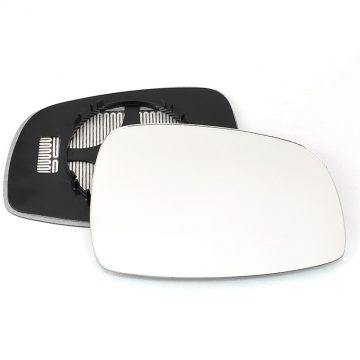 Suzuki Swift 2005-2010 Right wing mirror glass - Heated