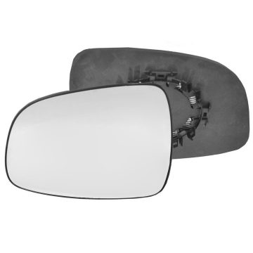Left side wing door mirror glass for Fiat Sedici