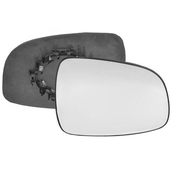 Right side wing door mirror glass for Fiat Sedici